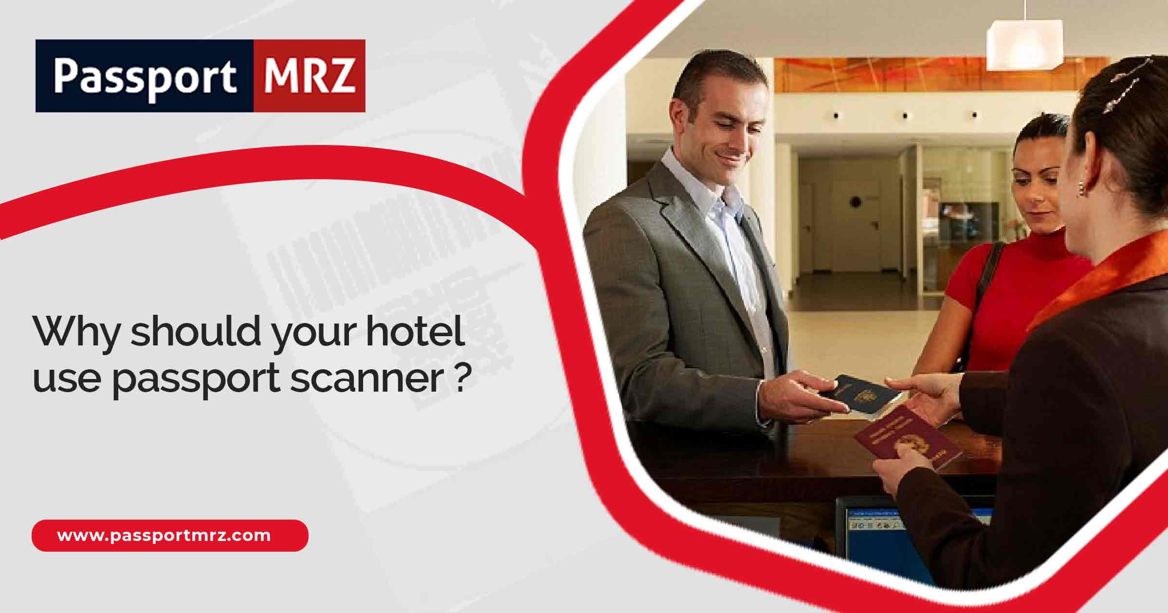 Passport Scanner at Hotel